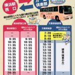 シャトルバス運行について