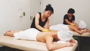 Korean-style Body Exfoliation