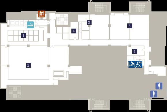 Property Map | Kobe Harborland Onsen Manyo Club Kobe