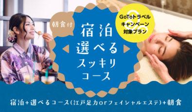 【GoTo対象】<br>選べるスッキリコース