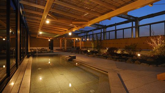 Roten Buro, an Open-Air Bath