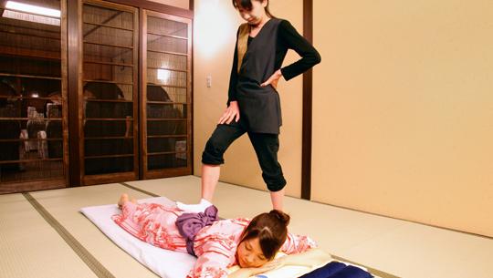 "Body & Foot Massage ""Birakuen"""