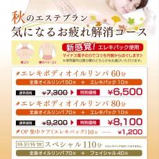 ボディ&フットケア爽快スカルプヘッド9/1~10/31