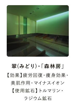 翠(みどり)・「森林房」