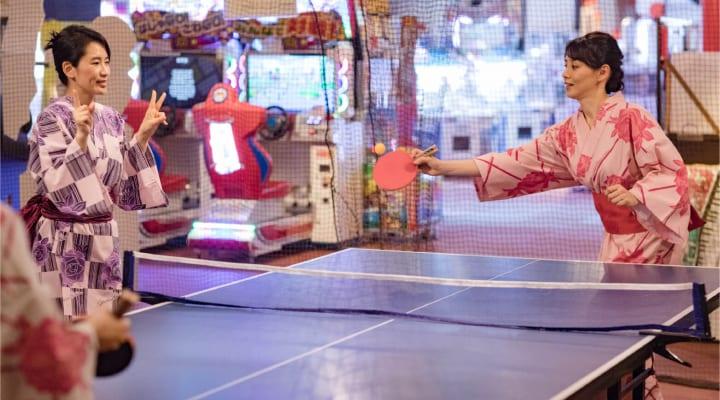 卓球コーナー