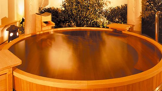 Hinoki Cypress Bath